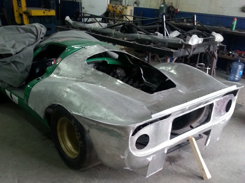 Aluminum Car Construction : Alloycars porsche spyder aluminum replica kit cars